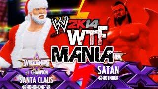 WWE 2K14: Santa Claus vs Satan (WTF MANIA) width=