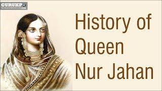 History  of Queen Nur Jahan(BA) width=