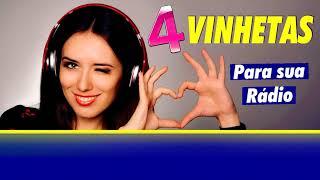 4 VINHETAS GRÁTIS PARA TOCAR NA SUA RÁDIO E PROGRAMAÇÃO RADIOS NET