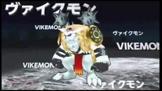 Digievoluciones of Digimon Adventure Tri