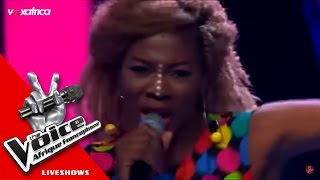 Daniela - Down on my knees | (The Voice Afrique francophone 2016 - GrandShow 1) width=