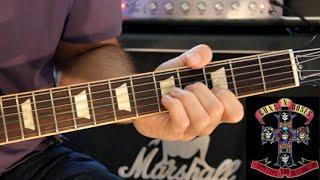Guns N' Roses Tutorial: Out Ta Get Me - Guns N' Roses (Slash Lick #8)