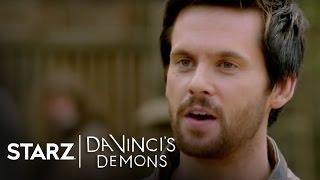 Da Vinci's Demons | The Evolution of da Vinci and Riario | STARZ