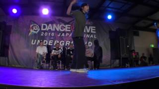 MARCIO RATINHO(ANGOLA) vs Atsuki(LOCA) EX BEST4 HIPHOP / DANCE@LIVE 2016 PRE FINAL