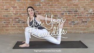 Yin Yoga Remedies is LIVE - NEW Yin Yoga Program!