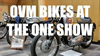 OVM & AMC Bikes at The ONE Motorcycle Show, Portland Oregon, 2020