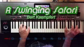 A Swinging Safari - Bert Kaempfert, Cover, Eingespielt mit titelbezogenem Style auf Korg Pa4x