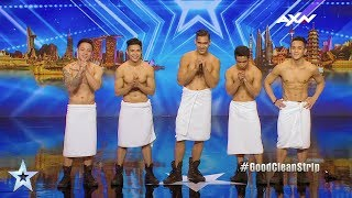 Stripboys Judges' Audition Epi 4 Highlights   Asia's Got Talent 2017 width=
