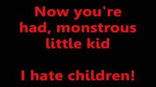 Adolescents - I Hate Children (Lyrics)