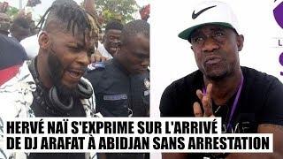 Hervé Naï s'exprime sur l'arrivé de DJ Arafat à Abidjan width=