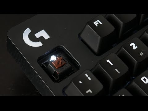 Tastatura mecanica - Logitech G610 Orion review