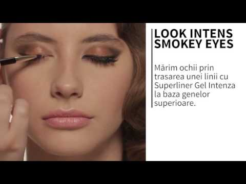Look intens - smokey eyes
