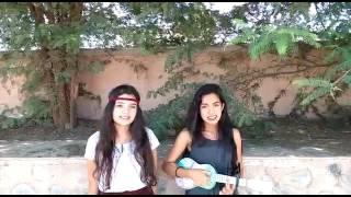 LOCOS - Leon Larregui // cover ukulele//  Nickolle y Yaneli