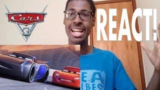 REACT : Carros 3 (Cars 3, 2017) - Trailer 3 Legendado (Trailers nosferahcorp) Reação