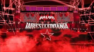 wwe wrestlemania 32 | finn balor  entrance stage animation