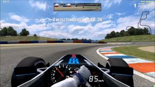 LFS - Live for Speed: Formula V8 on Aston Grand Prix