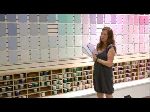 בחירת צבע לקירות הבית