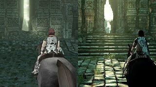 Shadow of The Colossus REMAKE | Intro Comparison | PS4 VS PS2