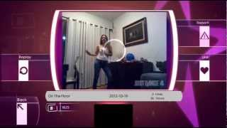 On The Floor Dance Off Just Dance 4 Xbox 360 Kinect