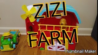 🐑Zizi's farm 🚜|children(kids) video🐴 learning counting 123