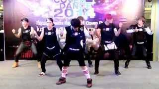 140920 Unleashed cover BEAST/B2ST - Good Luck @Pantip Cover Dance 2014 (Audition)