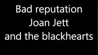 Bad reputation Joan jett and the blackhearts ringtone