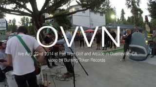 OVVN live at The Pee Wee Golf Corse and Arcade 08/22/2014