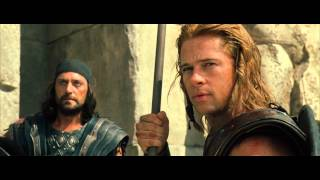 Troy - Spear Throw #Clip - Achilles [1080p Blu-Ray]