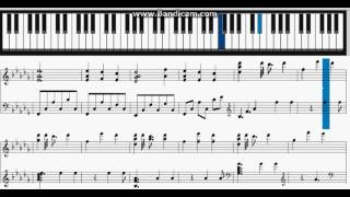 NieR Automata - City of ruin - Piano Sheet