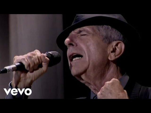 Video oficial de Hallelujah de Leonard Cohen