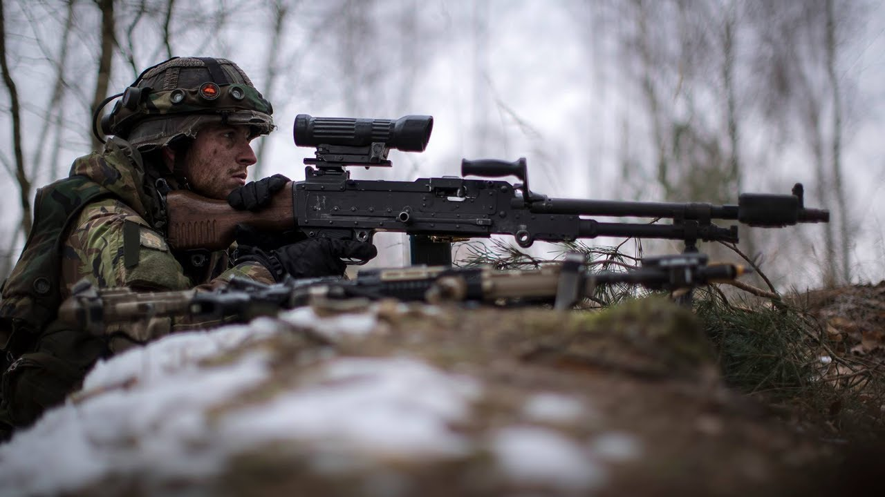 Dutch Troops • Ambush Techniques and Counter-Attack Operations • Poland