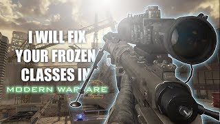 How To Unfreeze Your MW2 Classes Tutorial (Frozen Game Fix)