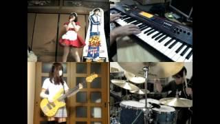 [HD]Neon Genesis Evangelion OP [Zankoku na Tenshi no These] Band cover
