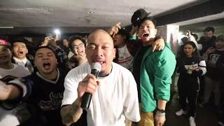 Zargon - FILIPINO HUSTLA live at milan Hip-hapan 03/10/19