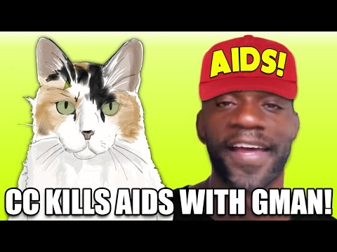 Creationist Cat & G-Man literally DESTROY AIDS - LIVE!