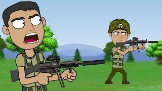 Fernanfloo en el Ejército - PlayerUnknown's PUBG | Alienz Toon