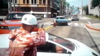 GTA V tiroteio contra a policia