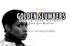 Jennifer Hudson  Golden Slumbers Carry That Weight (SING 2016 Soundtrack) Tous en Scène