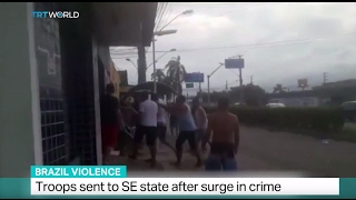 Brazil Violence: Troops sent to SE state of Espirito Santo after surge in crime