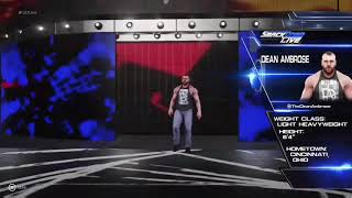 WWE2k19 Dean Ambrose Custom Entrance...