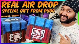 REAL AIR DROP OPENING | PUBG MOBILE SENT ME AN AIR DROP