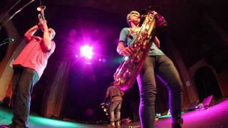 Too Many Zooz LIVE @ Bluebird Theatre in Denver 3/25/2017