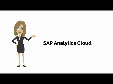 Introduction to SAP Analytics Cloud