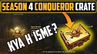 Opening Season 4 Conqueror Crate Pubg Mobile
