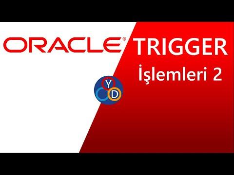 Oracle Görsel Eğitim Seti - 21 - Trigger Aktif ve Pasif Etme
