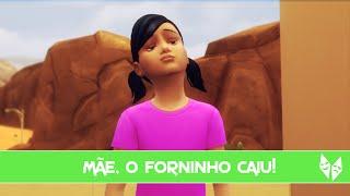 Mãe, O Forninho Caiu! | The Sims 4