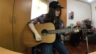 Avril Lavigne - When You're Gone (acoustic guitar cover)