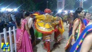 Chataki Ki Re Mara Makhan Ni Matki | United Way of Baroda | Garba Mahotsav 2015 | Nim's Group
