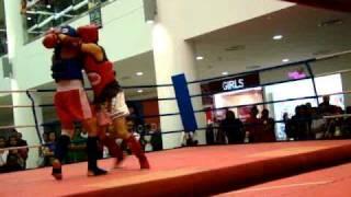 Sulaiman Lamat (Borneo Combat Gym), Quarter Final, 1st round