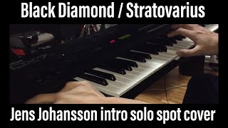 Stratovarius Jens Johansson keyboard solo 2014 cover Roland Integra-7 Yamaha  DX7s